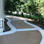 pathway and landscaping
